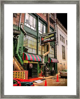The Rendezvous Framed Print