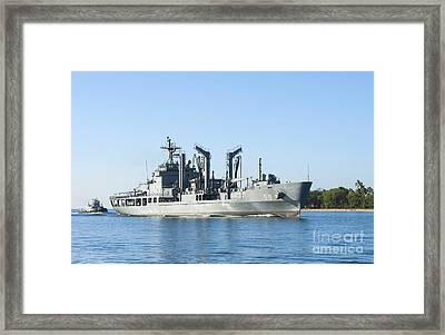 The Republic Of Korea Fast Combat Framed Print