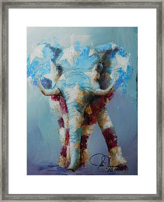 The Republican Framed Print by John Henne