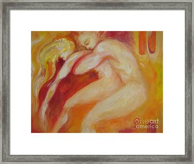 The Rescue Framed Print by Marat Essex