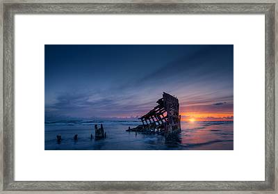 The Rest Is Silence Framed Print by Dan Mihai