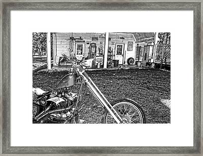 Framed Print featuring the photograph The Rest   by Lesa Fine