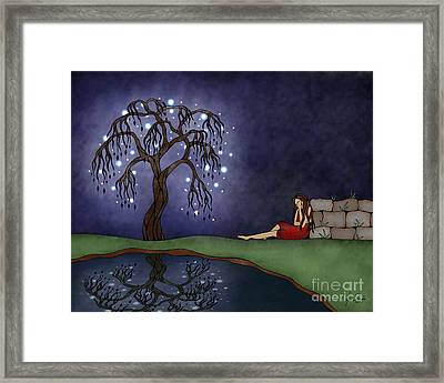 The Resting Place Framed Print by Glenna Smiesko