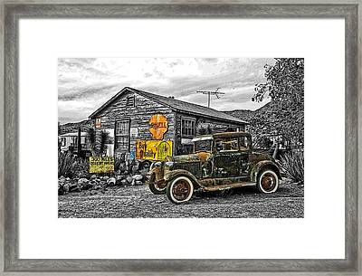 The Resting Place Framed Print