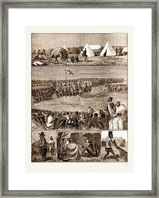 The Restoration Of Cetewayo, The Installation At Intonyanene Framed Print by Litz Collection