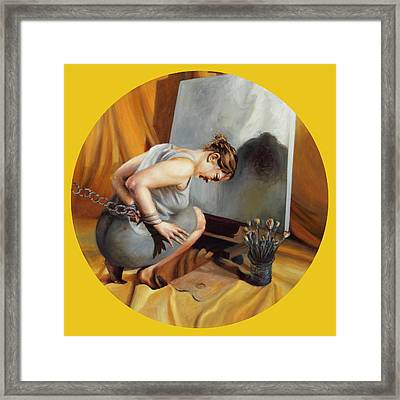 The Restricted Framed Print by Shelley Irish
