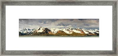 The Resurrection Mountains Framed Print by Panoramic Images