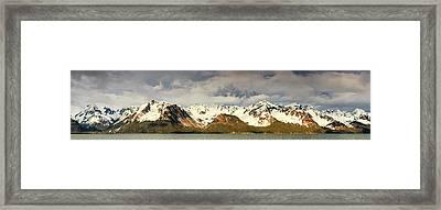 The Resurrection Mountains Framed Print