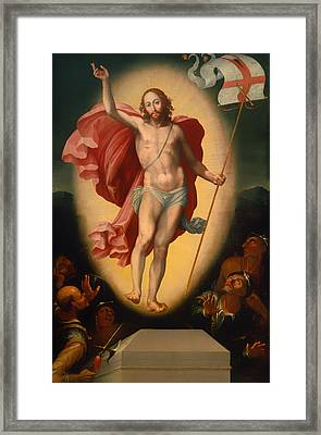 The Resurrection Of Christ Framed Print by Mountain Dreams