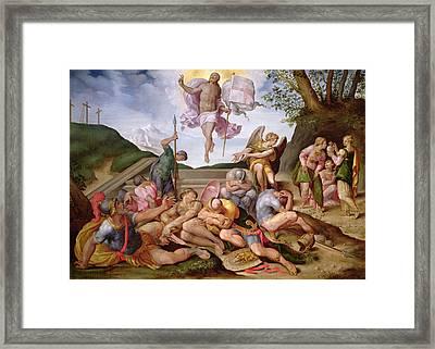 The Resurrection Of Christ, Florentine School, 1560 Framed Print by Italian School