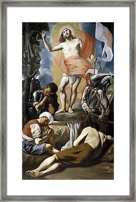 The Resurrection Of Christ Framed Print
