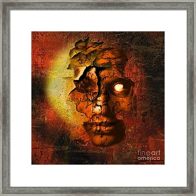 The Resurrection Of Doom Framed Print