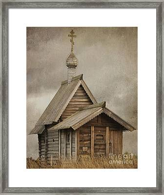The Resurrection Of Lazarus. Kizhi Island. Russia Framed Print by Juli Scalzi