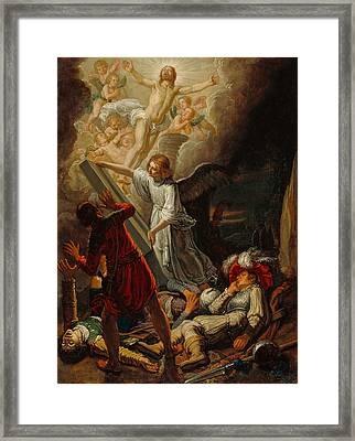 The Resurrection Framed Print by Pieter Lastman
