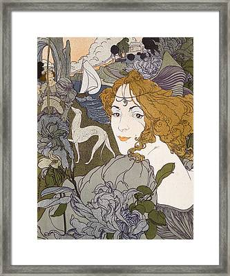 The Return Framed Print by Georges de Feure