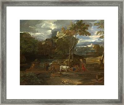 The Return Of The Ark Framed Print