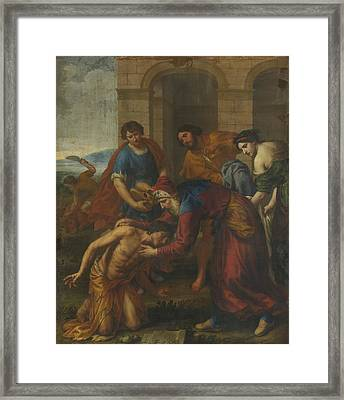 The Return Of The Prodigal Son Framed Print by Celestial Images