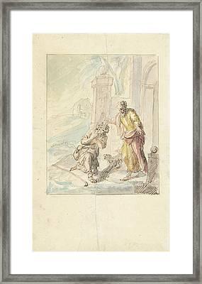 The Return Of The Prodigal Son, Elias Van Nijmegen Framed Print by Quint Lox