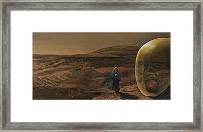 The Return Framed Print by Simon Kregar