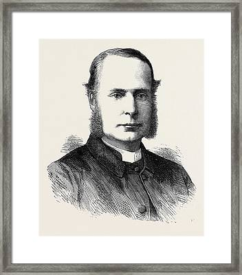 The Rev. Canon Ernest Roland Wilberforce Framed Print by English School