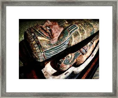 The Revelation Framed Print by Steve Taylor