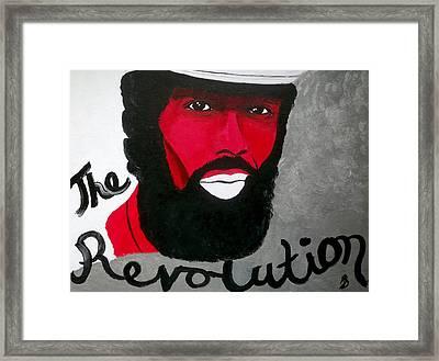 The Revolution Framed Print