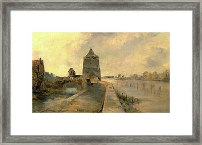 The Rhine At Constance Konstanz-am-rhein Germany Signed Framed Print
