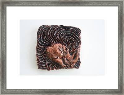 The Rhino Year 2013 - Blackhole To Extinction Framed Print by Gloria Ssali