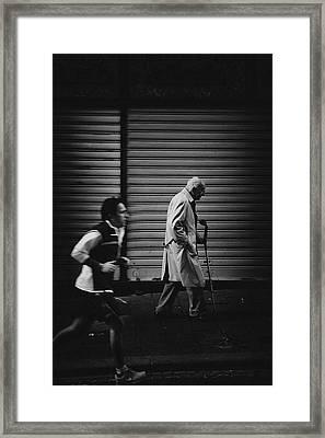 The Rhythm Of Life. Framed Print