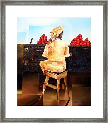 The Rhythm Of Things Framed Print by Laurend Doumba