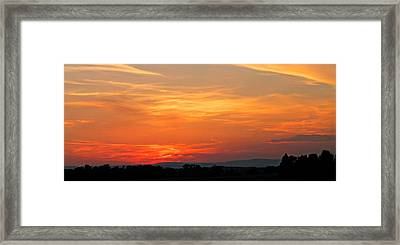 The Ride Home Framed Print