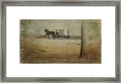 The Ride Home Framed Print by Kathy Jennings