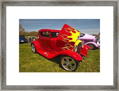 The Ride Framed Print by Terry Cosgrave