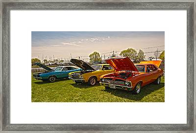 The Rides Framed Print