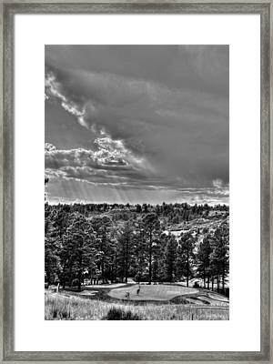 Framed Print featuring the photograph The Ridge Golf Course by Ron White