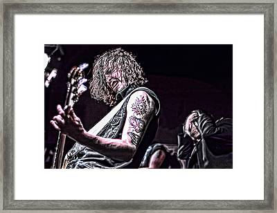 The Riff Framed Print by Ronnie Reffin