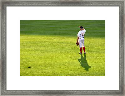 The Right Fielder Framed Print by Lauren Tracy
