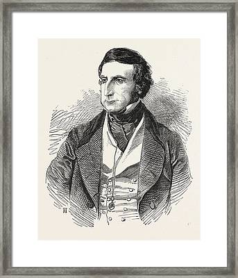 The Right Hon. The Chancellor Of The Exchequer Framed Print