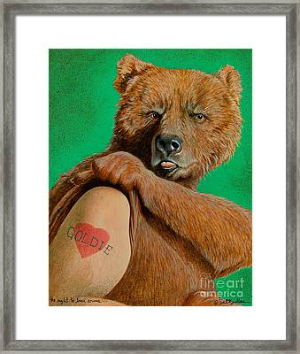 The Right To Bear Arms... Framed Print