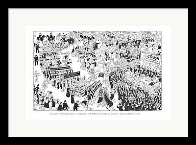 Union Square Drawings Framed Prints