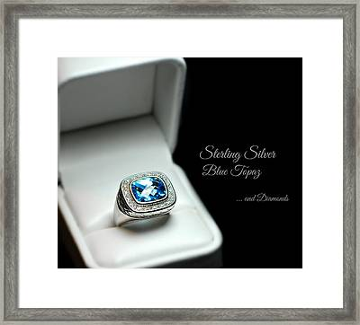 The Ring Framed Print by Diana Angstadt
