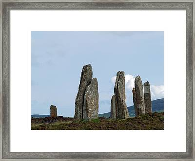 The Ring Of Brodgar Framed Print by Steve Watson