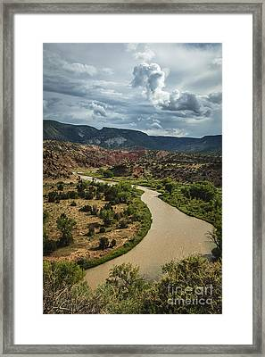 The Rio Chama Framed Print