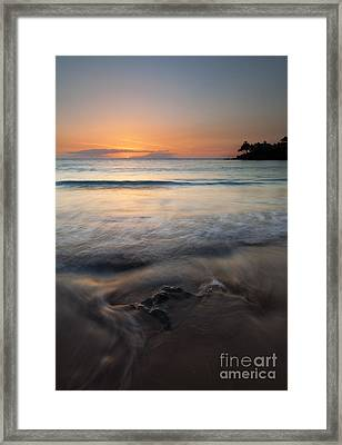 The Rise And Fall Framed Print