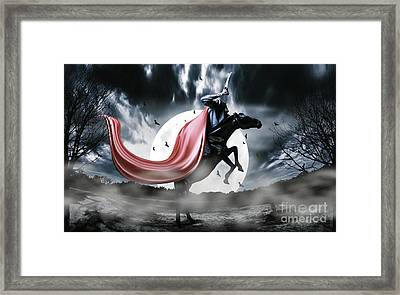 The Rise Of The Headless Horseman Framed Print