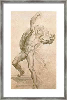 The Risen Christ Framed Print by Michelangelo Buonarroti