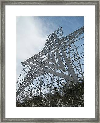 The Rising Star Framed Print