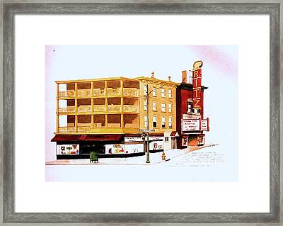 The Ritz Framed Print