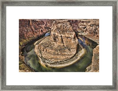 The River Did It Framed Print by Heather Applegate
