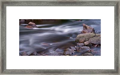 The River Flows 3 Framed Print by Mike McGlothlen